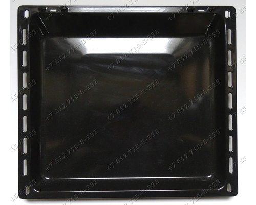 Противень 370*420*33 мм глубокий для плиты