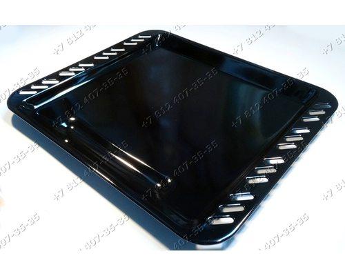 Противень 394*452 мм для плиты Indesit KN6043WU/E, Ariston