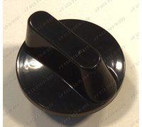 Ручка переключения режимов конфорки старого типа, черная для духовки Электра