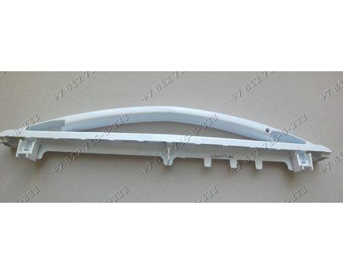 Белая ручка дверцы духовки L 493 мм для плиты Indesit K1G1W/R K3C11(W)R