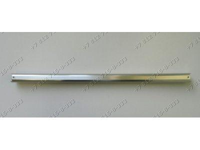 Серебристая ручка дверцы духовки для плиты Bosch 440305