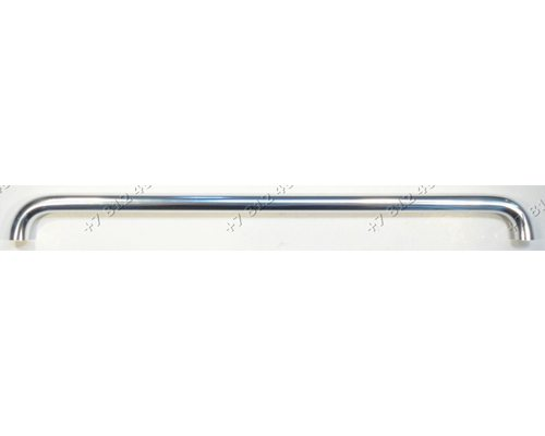 Ручка (серебристая) дверцы духовки L-426мм для плиты Ardo 651066823, 322128700
