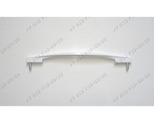 Белая ручка дверцы духовки для плиты Beko 258111121