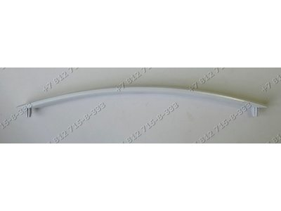 Ручка дверцы духовки белая Gefest 1300, 1500, 3300, 3500, 6100, 6300, 6140, ДА602