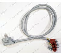 Сетевой шнур в сборе с клеммником для плиты Bosch HBN239S5R/09