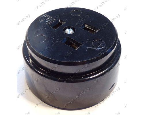 Ответная часть сетевого шнура духовки Desany Optima 5600-03