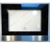 Внешнее стекло 590*465 мм (Ш*В) 355804602, расстояние между отверстиями 451 мм для духовки Electrolux EZB52410AX 944064658/01