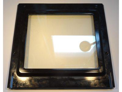 Внутреннее стекло духовки в сборе с металлическим обрамлением Beko CS58000 и т.д.