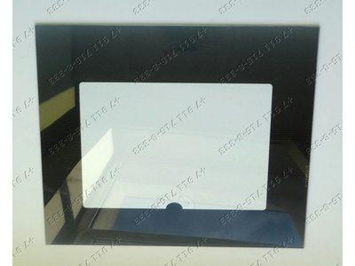 Стекло духовки внешнее для плиты Гефест 3100, 3200, 3101, 3110 и т.д. 498*409*4 мм
