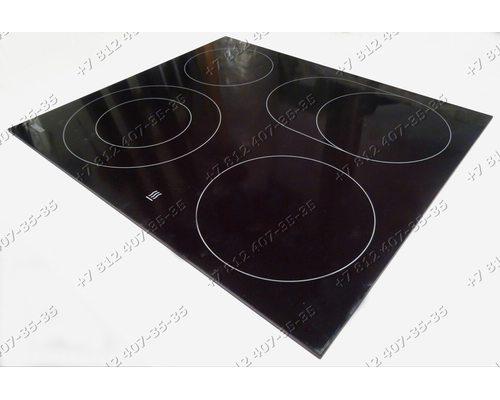 Стеклокерамическая поверхность для плиты Zanussi ZK630LN09O, ZK630L09O, ZK630LW09O, ZK630LX09O