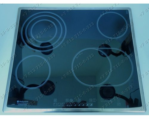 Стеклокерамическая поверхность для плиты Ariston Indesit 7HKRO642TOXRUHA KRO642TOX