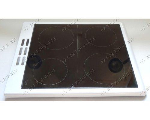 Стеклокерамическая поверхность в сборе с пластиковой окантовкой для плиты Beko CS58000 7728088314