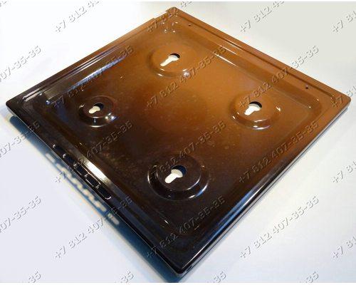 Стол плиты 488 мм * 499 мм, коричневый Gefest, Гефест 3100