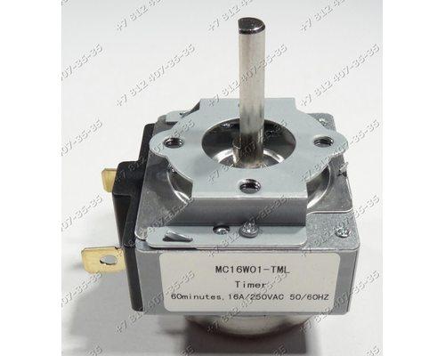 Таймер MC16W01-TML, 60 минут, 16A для плиты