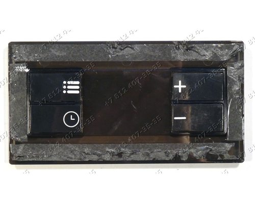 Дисплей таймера пластиковый плиты Beko FSM67320GWS 7785988305
