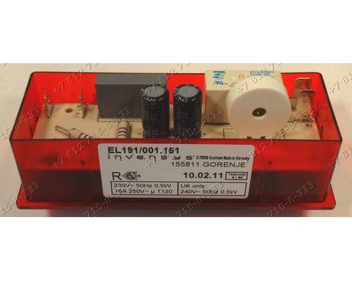 Таймер EL191/001.151 155811 для плиты Gorenje