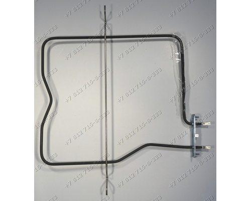 Тэн (800W верх широкий, боков контакты, П- образный) духовки для плиты Deluxe Делюкс