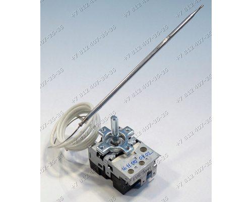 Регулируемый термостат - Терморегулятор капиллярный 50-243°C, 860mm 104516C 16A на духовку
