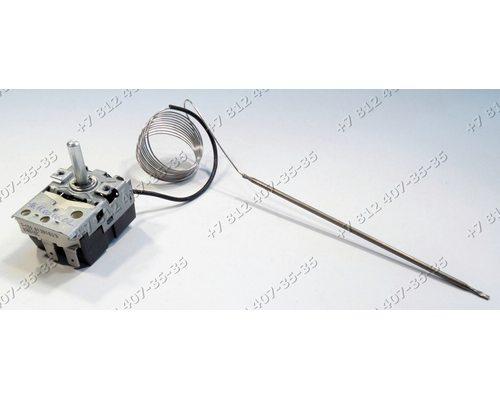 Регулируемый термостат - Терморегулятор капиллярный 50-300°C, 1,5 м  074516C 16A ТАМ-124-13 на духовку Eika АБАТ ABAT