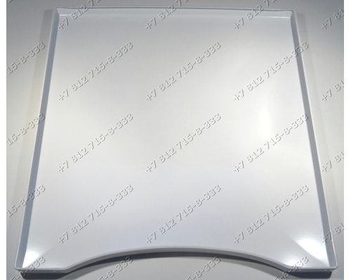 Верхняя крышка белая 495*552 для плиты Gorenje