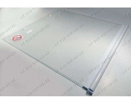 Верхняя крышка 495 мм * 520 мм стеклянная для плиты Gefest 3200, 3300 - БЕЛАЯ