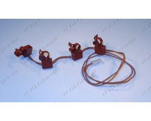 Блок выключателей для плиты Electrolux 3570571038 3570571319