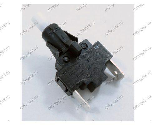 Переключатель кнопка розжига 16A 250V PS25-16-2RB для плиты Gefest