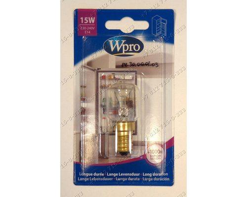 Лампочка для холодильника Whirlpool, Electrolux, Indesit, Ariston Stinol 256Q Samsung RA20VHSS1/BUL