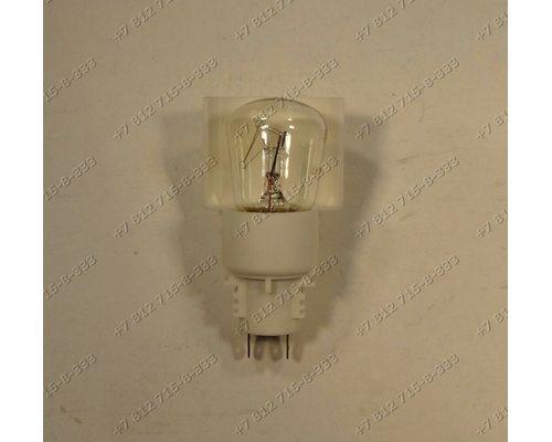 Лампочка в сборе с патроном 2 контакта 15W холодильника Whirlpool