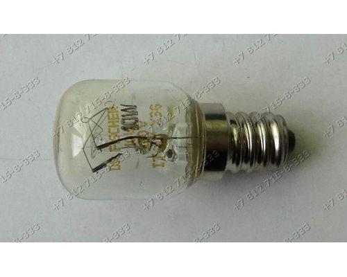 Лампочка холодильника Sharp цоколь E12 10W