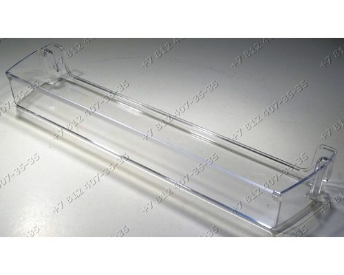 Балкон верхний для холодильника Indesit Ariston ECF1814L, ECFB1813HL, ECFB1813SHL, ECFD2013SHL, ECFD2013XL