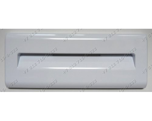 Белая панель ящика (414X162X25) для холодильника Indesit Ariston KRF310D