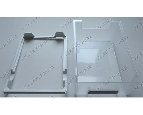Выдвижной ящик в сборе с рамкой холодильника Bosch KGV39X25/01