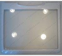 Полка стеклянная с обрамлением 438*381 для холодильника Samsung