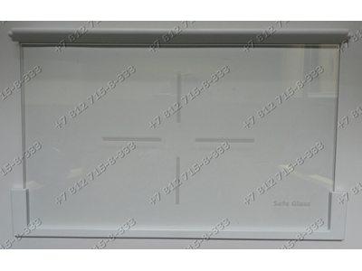 Полка стеклянная в сборе с обрамлениями для холодильника Whirlpool 481245088203