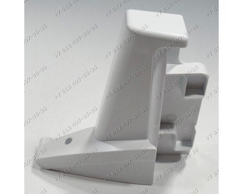Крепеж полки-верхнего балкона-уголок правый для холодильника Liebherr EKB2410-20F