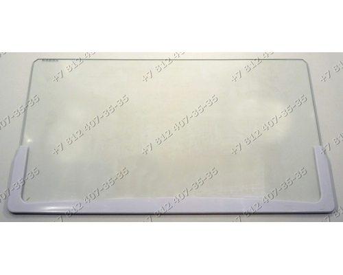 Полка с обрамлением стеклянная для холодильника Бирюса 600-й модельный ряд