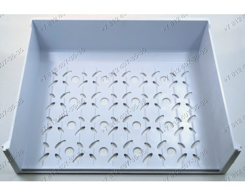 Корпус верхнего ящика морозильной камеры для холодильника Бирюса Ш 480* Г 370* В 120мм
