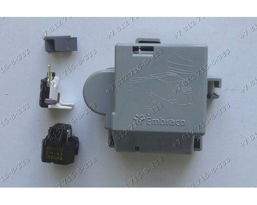 Пуско-защитное реле компрессора для холодильника Whirlpool 283KFBYY, 8EA17C3, 18B0AB 481221838195