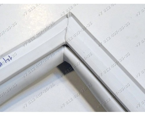 Резина морозильника Атлант ММ163, ММ183, М131 и т.д. 560*1135 мм профиль R1
