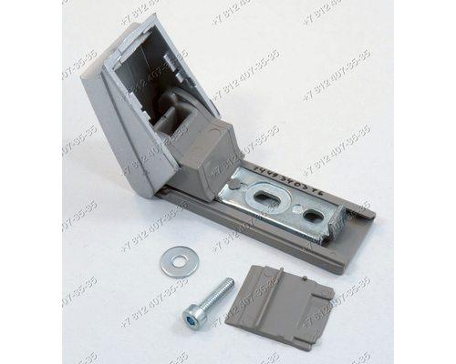 Кронштейн ручки серебристый 9590174-01/013 для холодильника Liebherr (НЕОРИГИНАЛ)