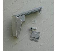 Комплект кронштейнов ручки серебристый 9590174-01/013 для холодильника Liebherr (ОРИГИНАЛ)
