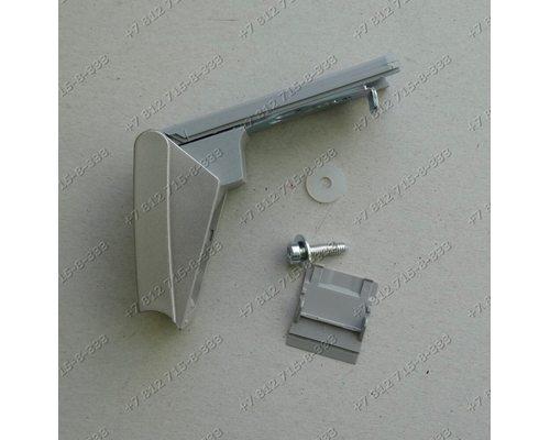 Кронштейн ручки серебристый 9590174-01/013 для холодильника Liebherr