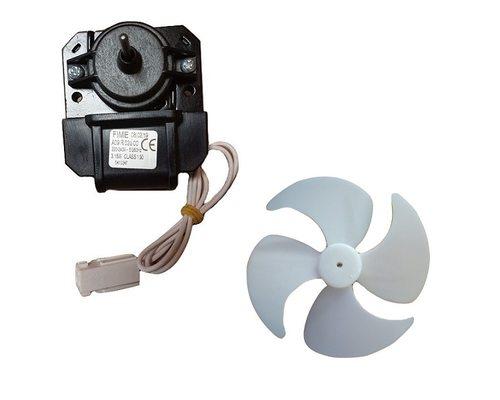 Вентилятор для холодильника Атлант для моделей ХМ44.. ХМ45... - двигатель в сборе с крыльчаткой - ОРИГИНАЛ!