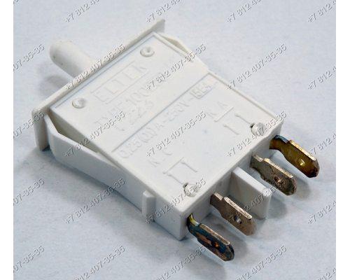 Выключатель света 5A 250V 5E4 25T85 для холодильника Indesit Ariston BCB31AAE, EDF290XS, INCB33AA