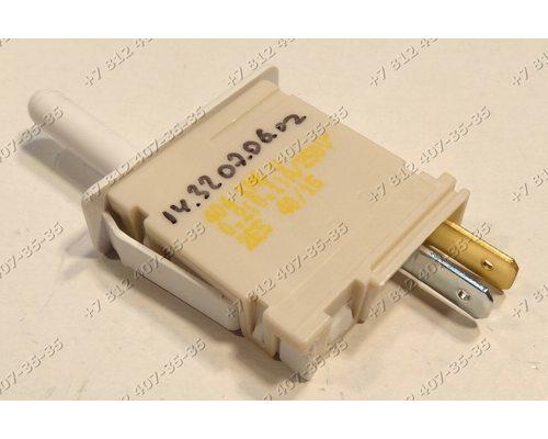 Выключатель света 2 контакта 404 KM3 KM6 длина штока 2 см холодильника Bosch