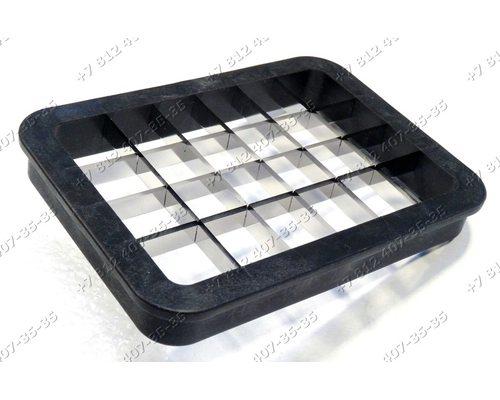 Вставка-нож для нарезки кубиками (сетка) для комбайна Philips HR7969, HR1659, HR1659/90, HR1659/98