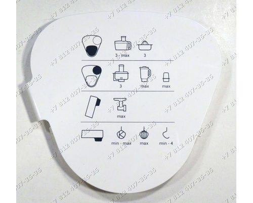 Крышка блока привода измельчителя для кухонного комбайна Kenwood KM240 KM243 KM244