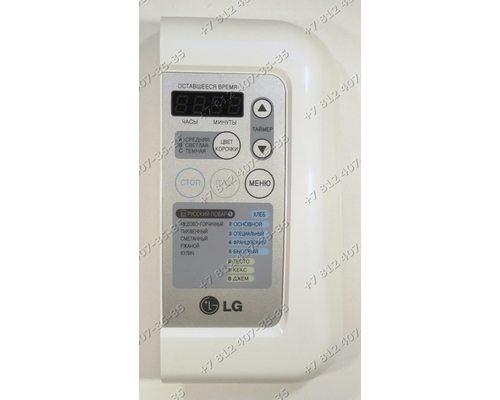Передняя панель в сборе с электронным модулем для хлебопечки LG HB-1051CJ HB1051CJ HB-1001CJ HB1001CJ