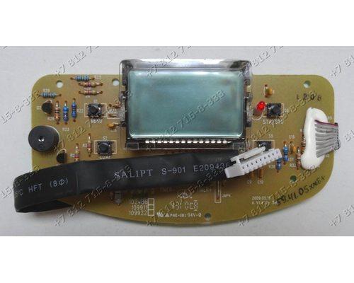Плата индикации с дисплеем для хлебопечки Moulinex OW502430